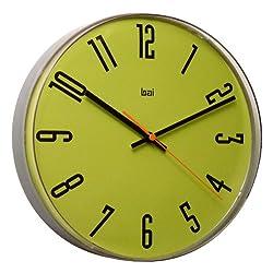 BAI Lucite Wall Clock, Cyber