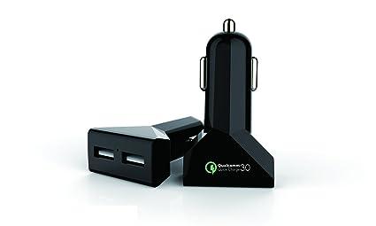 Amazon.es: umoi coche cargador rápido para móviles con 2 ...