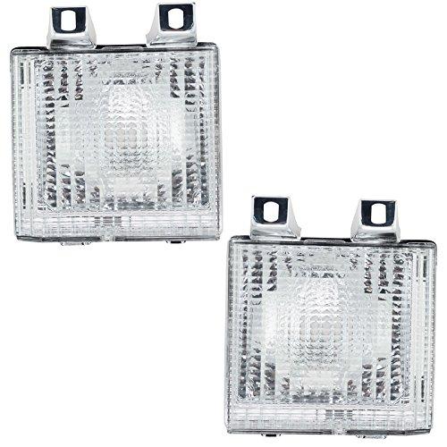 Turn Signal Side Corner Marker Lamp Light Pair Set for Chevy GMC Pickup Truck (Signal Jimmy Turn Gmc)