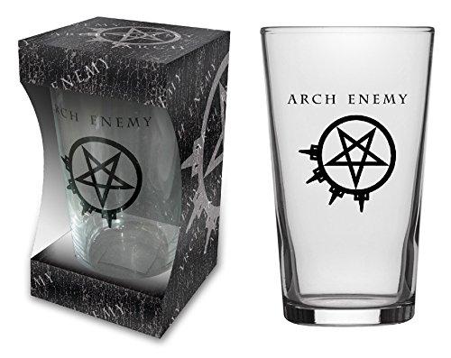 Arch Enemy 1 Pint Beer Glass
