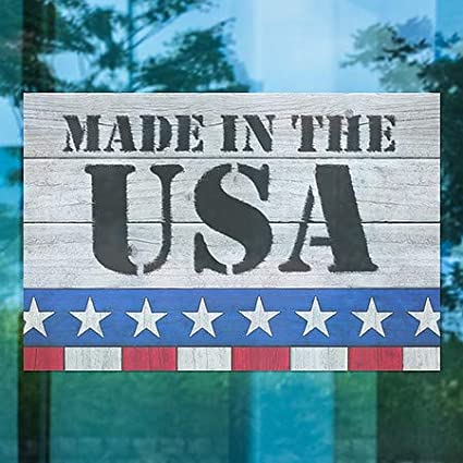 5-Pack Made in USA Window Cling CGSignLab 27x18