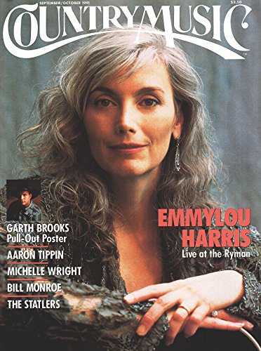 Country Music magazine, Number 151, September/October 1991 - Emmylou Harris - Country Magazine Music