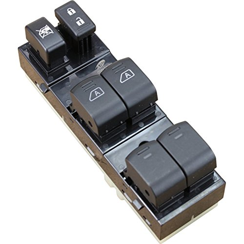 Drivers Side Lock Box (Brand New Master Window and Lock Switch Driver Side Front for 2007-2012 Altima G35 G37 WITH OUT PREMIUM PACKAGE Oem Fit SW1970)