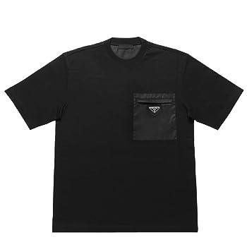 (プラダ) PRADA 半袖Tシャツ ブラック UJN661 1WQ5 F0002 [並行輸入品]