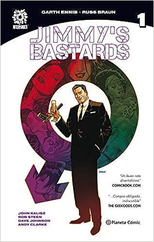 Jimmy's Bastards Nº 01/02 por Garth Ennis epub