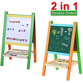 Amazon Com Displays2go Double Sided Children S Easel