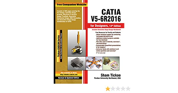 CATIA V5-6R2016 for Designers, 14th Edition