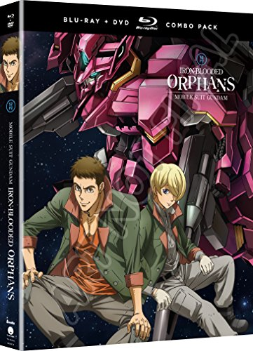Mobile Suit Gundam  Iron Blooded Orphans  Season Two  Part Two  Blu Ray Dvd Combo