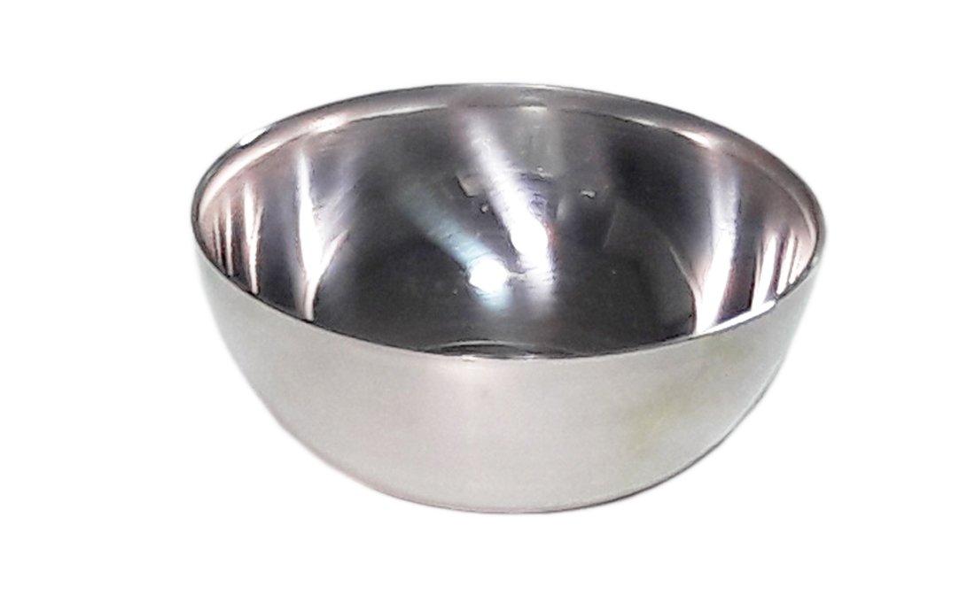 4pcs Stainless Steel Sake Japanese Rice Wine Soju Cup Sakazuki Set Outdoor Camping Travel Mini bowls by lIvpoint (Image #2)