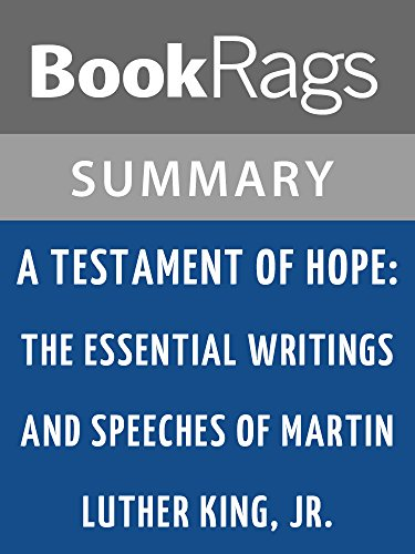Amazon summary study guide a testament of hope the summary study guide a testament of hope the essential writings and speeches of martin fandeluxe Images