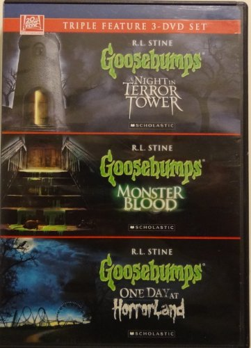 Goosebumps: A Night in Terror Tower / Monster Blood / One Day At Horror Land (Goosebumps Dvds Box Set)
