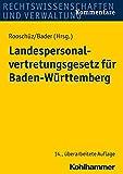 Landespersonalvertretungsgesetz Fur Baden-Wurttemberg, Gerstner-Heck, Brigitte, 3170248642