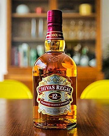 Chivas Regal 12 años Whisky Escocés + Pack regalo 2 vasos - 700ml