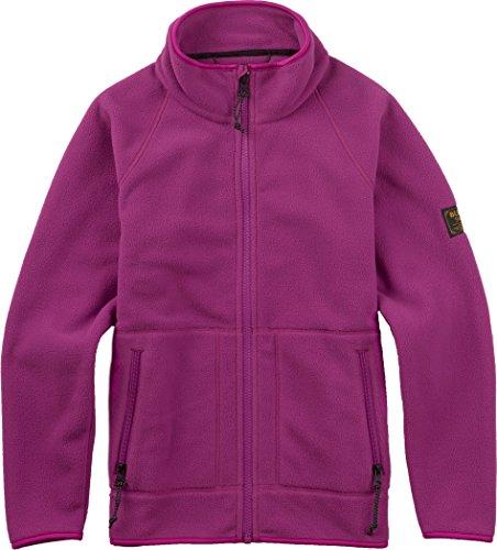 - Burton Boys' Spark Collar Full-Zip Fleece, Grapeseed W17, Medium