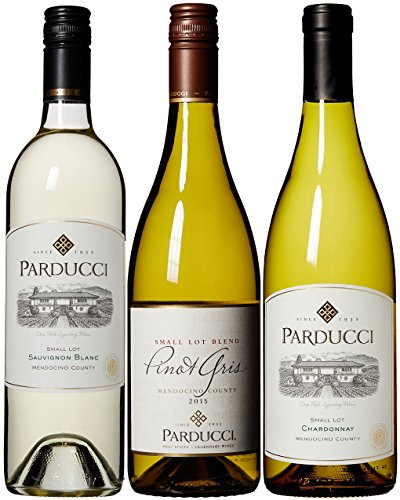 Parducci Mendocino Classic White Wine Collection Mixed Pack, 3 x 750 ml