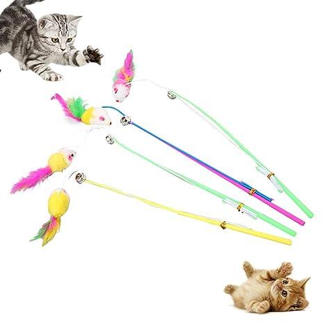 Feli546Bruce Juguete para Gato, Juguete para Gato, Juguete ...