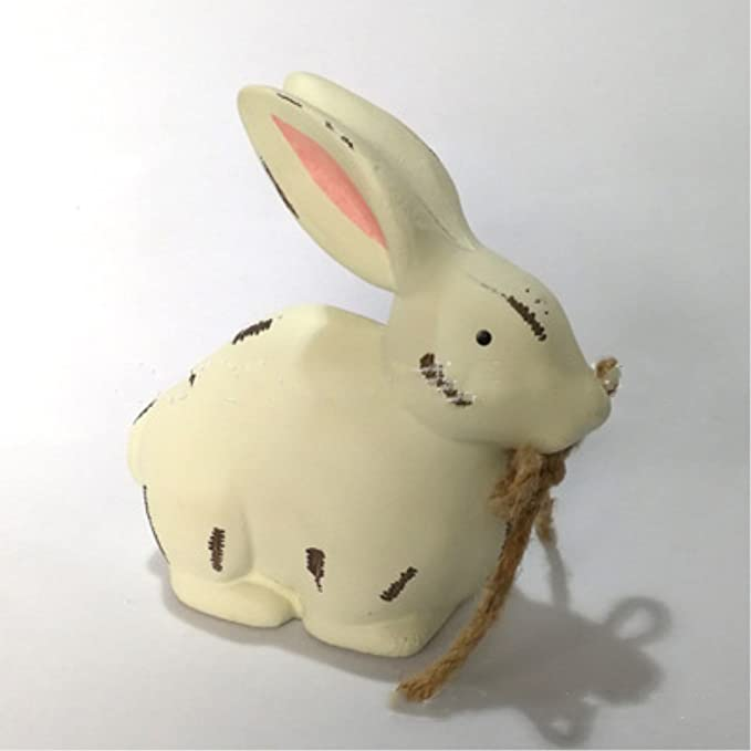 """3-D /""""Easter/"""" Bunny Ear Wood  Décor"""
