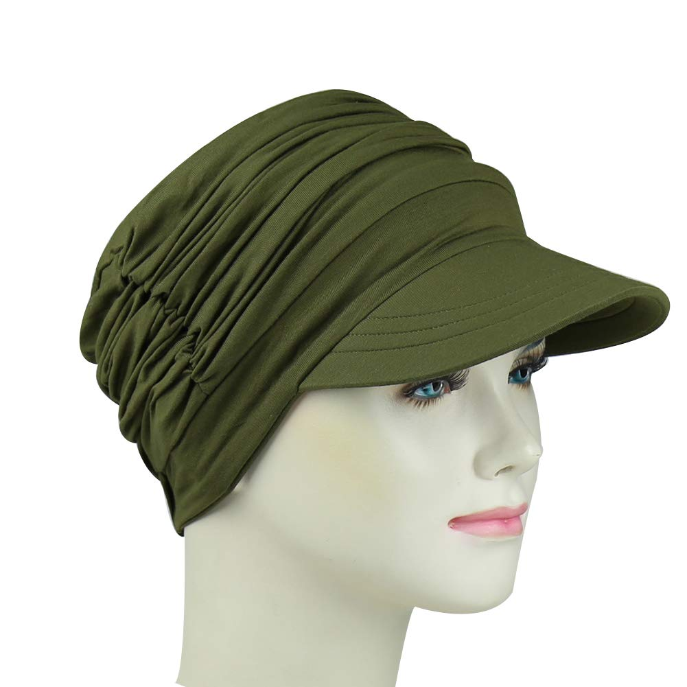 FocusCare Soft Hats for Chemo Women Bamboo Baseball Cap Hair Loss Turbans