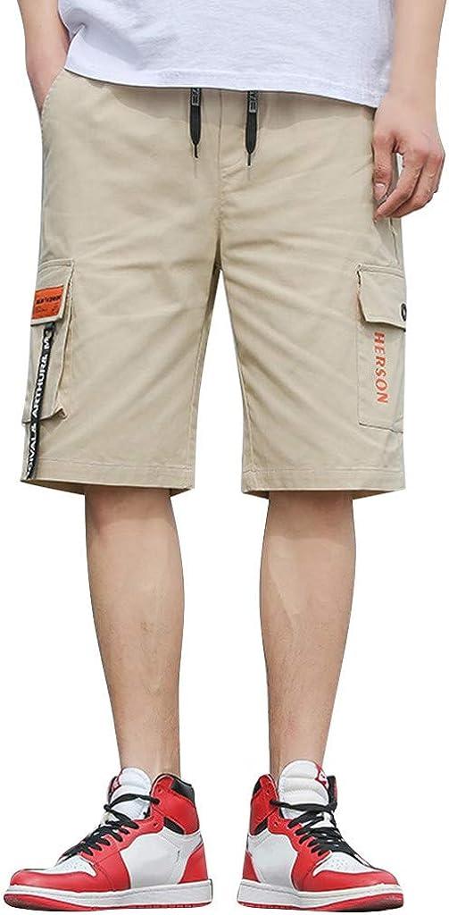 Shorts de Camuflaje para Hombre,Pantalones Rectos Sueltos ...