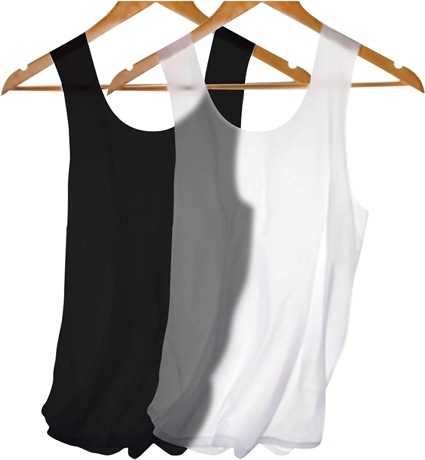 Men Tank Tops Dry Fit Bodybuilding Sleeveless Undershirt Muscle Compression Tank Top for Men Fitness