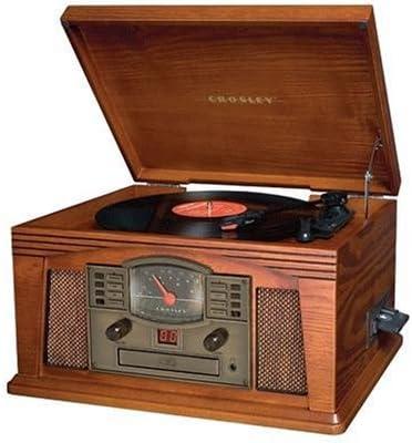 Amazon.com: Crosley Lancaster Turntable Paprika: Home Audio ...