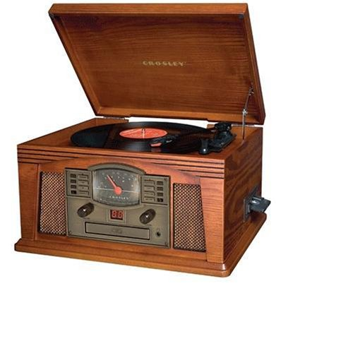 Crosley CR42 Lancaster Entertainment Center (Paprika) (Discontinued by - City Park Lancaster
