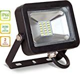 LLT LED COMPACT Floodlight SMD Outdoor Landscape Security Waterproof 10W 5000K (Daylight)
