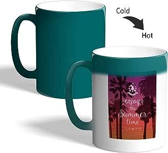 كوب ماجيك للقهوة أو الشاي من ديكالاك، mugM-TRQ-02908