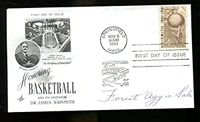 Forest Aggie Sale Signed FDC 6.5x3.5 Autographed Kentucky Basketball Rare 22818