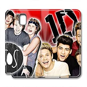 iCustomonline 5 Seconds Of Summer Leather Standup Cover for Samsung Galaxy Note 3