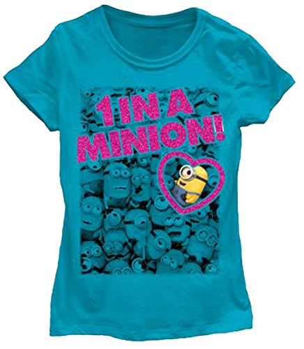 Despicable Me Minions Girls Juniors T-Shirt (M, - Tank Top Me Despicable Minion