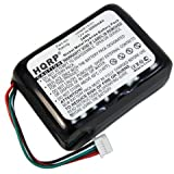 HQRP 2000 mAh Batterie pour Logitech Squeezebox 930-000106, HRMR15/51, NT210AAHCB10YMXZ, X-R0001 Wi-Fi Radio d'Internet