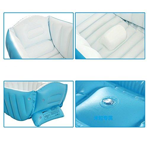 kf445 large capacity baby inflatable bath tub plastic air swimming pool kids. Black Bedroom Furniture Sets. Home Design Ideas