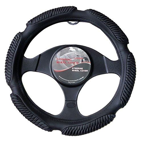 APZONA Steering Wheel Cover Universal 15 inch (Lexus Steering Wheels)