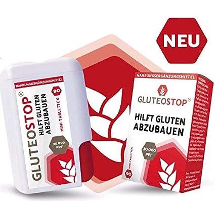 GluteoStop Enzyme - Ayuda a descomponer el gluten | Apoya ...