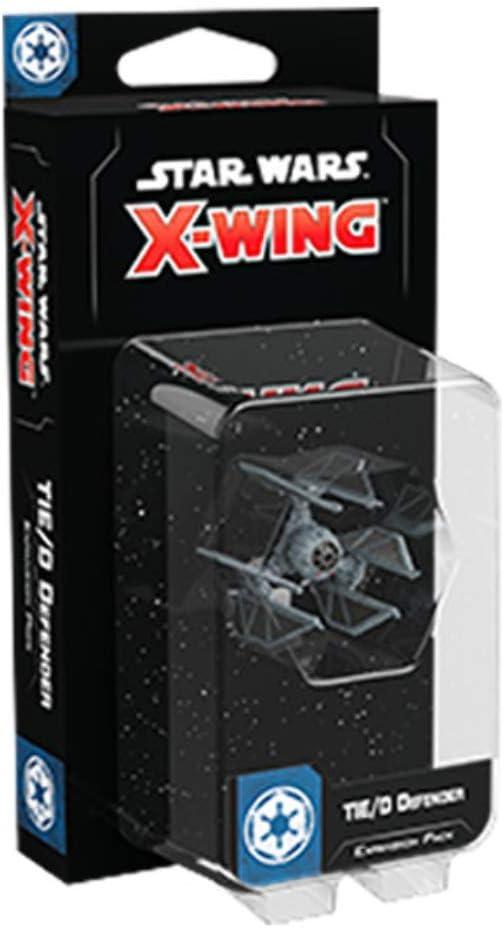 Star Wars X-Wing Segunda edici/ón expansi/ón Tie//D Defender SWZ60 Multicolor Fantasy Flight Games
