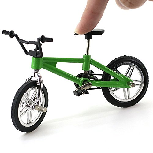4 Pack Finger Mountain Bike Excellent Functional Miniature Metal Toys Mini Extreme Sports Finger Bicycle Cool Boy Toy Creative Game Toy Set Collections by Yexpress (Image #6)