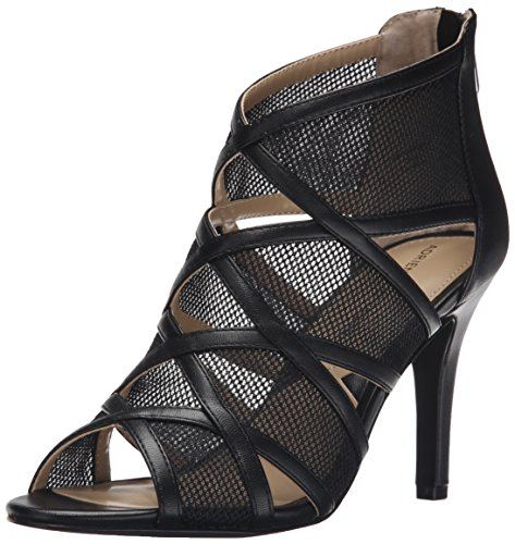 ADRIENNE VITTADINI Footwear Womens garo Dress Sandal Black