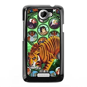 The best gift for Halloween and Christmas HTC One X Cell Phone Case Black Freak badass Shere Khan by disney villains VIK9182358