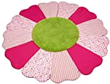 Kathe Kruse - In The Garden - Flower Patchwork Blanket