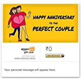 Happy Anniversary (Perfect Couple) - E-mail Amazon Pay Gift Card