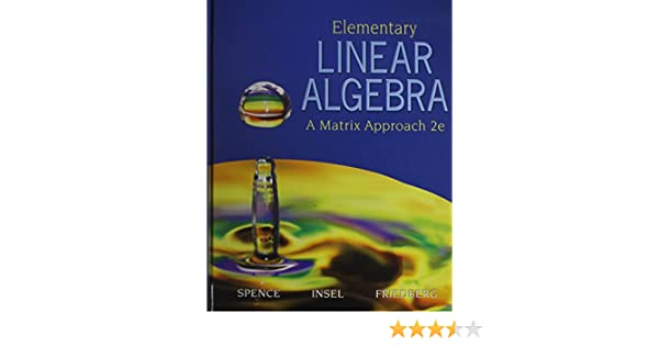 Elementary Linear Algebra With Student Solution Manual 2nd