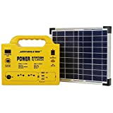 5 lbs Portable Generator Power Station with 128 Wh Lithium Battery, 12V DC/110V AC Outputs, USB, Lighting, Car Lighter Ports for Emergency, Camping & Outdoor Activities – Monerator Gusto 10