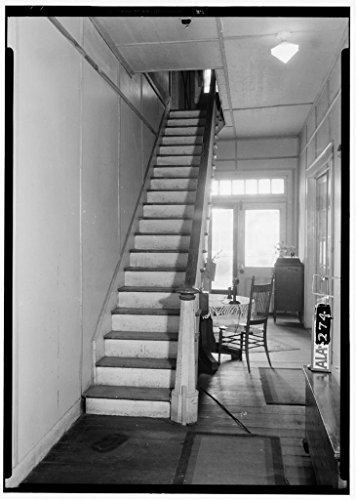 8 x 12 Photo 4. Historic American Buildings Survey Alex Bush, Photographer, April 9, 1935 Fireplace in Old Kitchen Slave Quarter W. Room - Shackelford-McCrary-Otts House, 901 Ce After 1933 04a by Vintography