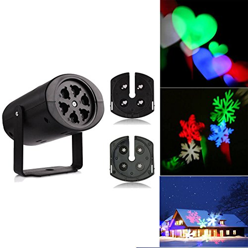 (9Fshine snowflake Stage Light Projector Lamps)