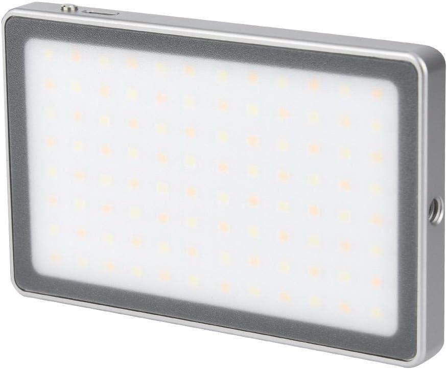 black Senyar LED Video Light,VIJIM VL-1 Portable LED Video Light Magnetic 3000-6500K Photography Lighting Lamp