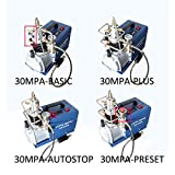 110V Auto-Stop Air Compressor 30MPA 4500PSI