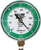 "Yellow Jacket 69044 Vacuum Gauge, 0-30"" Hg/760-0 Torr, 3 1/8"""