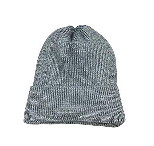 Punto Sombrero Invierno de Terciopelo Grueso Black Plus Sombrero de Punto Hombres Temptation de 1 Moda Multicolor17 para Sombrero HUntwqB