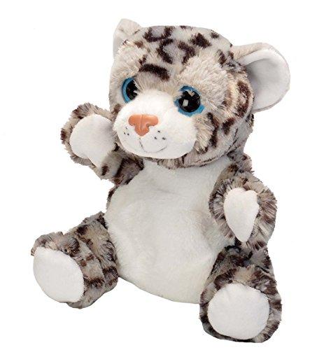 Wild Republic Snow Leopard Stuffed Animal Plush Toy, 9